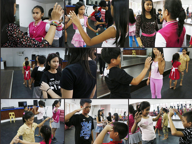 Acting workshop held at TIU Theater.